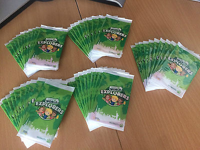 Woolworths World Explorers Cards 50 Unopened Packs