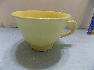 Luray Pastel 1 COFFEE CUPS /  TEA CUPS  YELLOW (r-FREE)