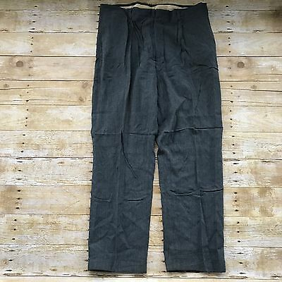 Vintage Men's 1940's-1950's Haband  Pants Workwear Mens Size 37x28 *as Found*