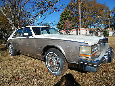 1982 CADILLAC Seville  1982 Cadillac Seville - PARTS ONLY