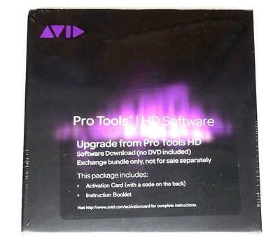 Avid Digidesign Pro Tools HD7 HD8 to HD10 HD11 HD12 Non-Tiered Upgrade