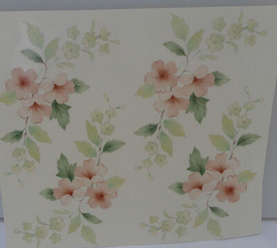 Ceramic Decal         DELICATE BRIAR ROSE    10 X 8 cm  (4 pieces)