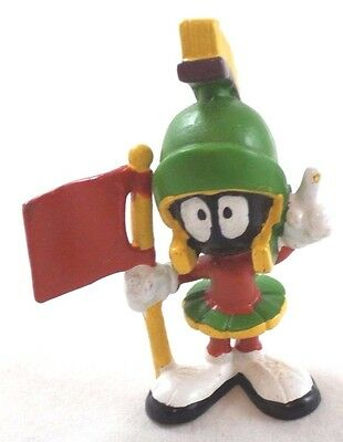wb Marvin Pointing Flag PVC Warner Brothers Looney Tunes Bros Figure Topper '88