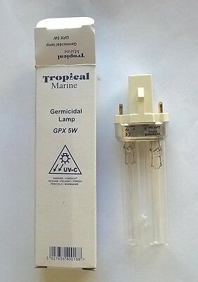 5 watt UVC replacement bulb for pond filters 5027656400188