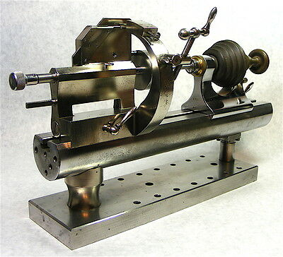 Rare Vtg. Mystery Watchmakers, Clockmakers Lathe Accessory Jeweling Rest (?)