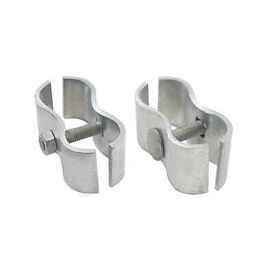 ALEKO Gate Part #10 2 Sets Kennel Panel Clamps for Chain Link Fence Kennel Panel