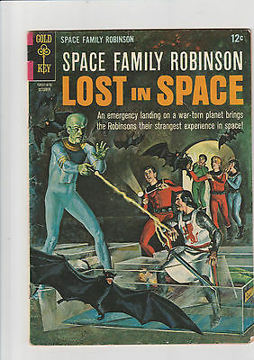 Space Family Robinson #18 VG  Gold key comic Lost in Space 1966