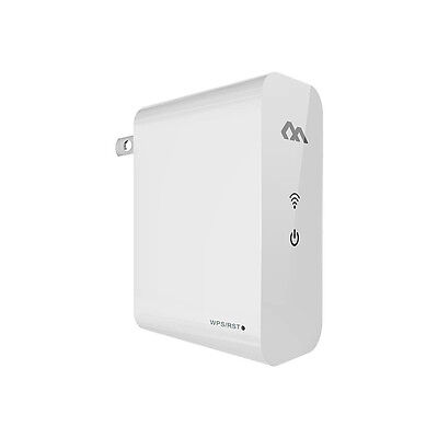 Mini Portable 300Mbps Wireless N Repeater/AP/Router/Charger WiFi Signal Extender