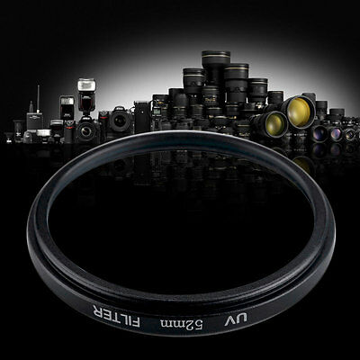 52mm Haze UV Filter Lens 52mm Lens Protector For DSLR/SLR/DC/DV Camera Lens MF