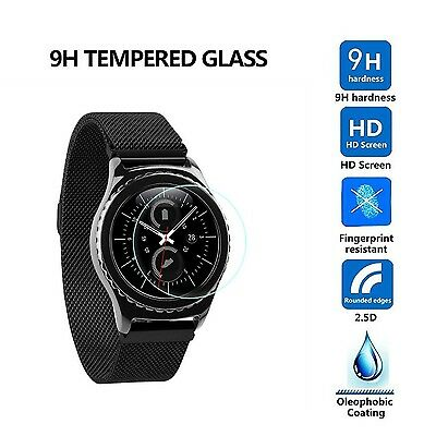 SHATTER-PROOF GLASS Screen Protector Film Cover Accessories For SAMSUNG GEAR S3