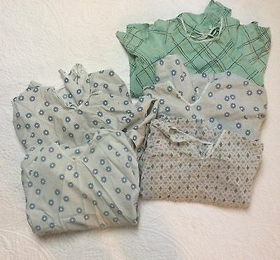 5 TIE BACK HOSPITAL PATIENT GOWNS ~ MEDICAL EXAM ~ One Size ~ Nice Condition