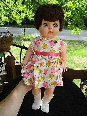 VINTAGE 20 inch AE 578 BABY DOLL!!!!! Excellant-From grant's Dept store