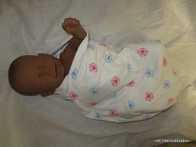 Realcare Reality Works Drug Affected Baby Black African Male Boy AS-IS Parts