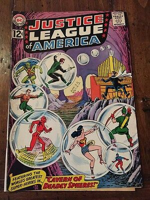 Justice League of America #16 December 1962 G Deadly Spheres