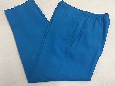 Alfred Dunner Women's Size 14 Pull-on Stretch Waist Pants Sky Blue