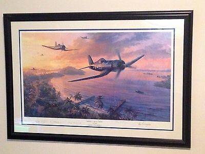 Nicolas Trudgian Framed Print-The Jolly Rodgers; Signed & Numbered