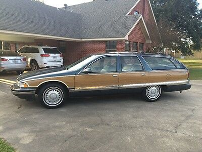 1996 Buick Roadmaster Limited Estate Wagon 1996 buick roadmaster estate wagon
