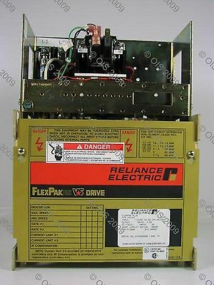 Reliance 14C56U Flexpak Plus VS DC Drive 1/4-3/4 HP 115 VAC