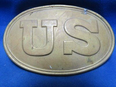 Indian Wars U.S. Army Brass and Lead Belt Buckle