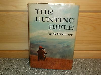 The Hunting Rifle Jack O'Connor 1970 book