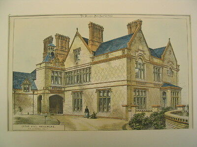 Lythe Hill (Ver. 2), Haslemere, UK, 1871, Original Plan