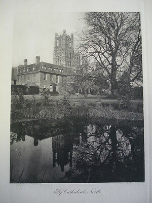 Ely Cathedral, North View, 1886- Photogravure
