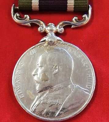 *rare Pre Ww1 British Army Expedition To Tibet 1903 Campaign Medal In Silver*