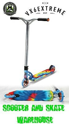 2016 Madd Gear Mgp Vx6 Complete Extreme Scooter Tie Dye - Free Delivery