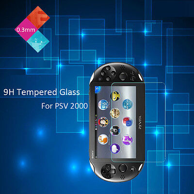 1x 2x Lot Genuine Tempered Glass Film Screen Protector for Sony PS Vita PSV 2000