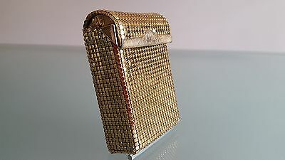 Sterling Mesh Cigarette Case In Vvery Nice Condition. Made By Glo Mesh ??