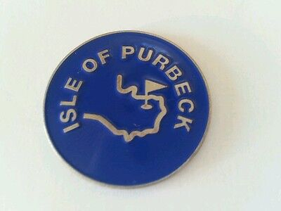 Isle of Purbeck Golf  Ball Marker