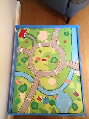 Car / Train Children's Activity Table With Road Design On The Top