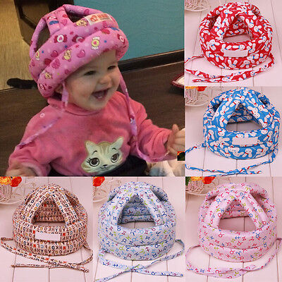US Toddler Baby Infant Safety Hat Helmet Headguard Protector Walj Cap Adjustment