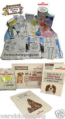 Warwick Dog Deluxe Whelping Kit Puppy Milk Delivery Pack & Royal Canin FREE Pack