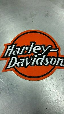 Vintage HARLEY DAVIDSON patch - 4 INCH RARE OFFICIAL LICENCED