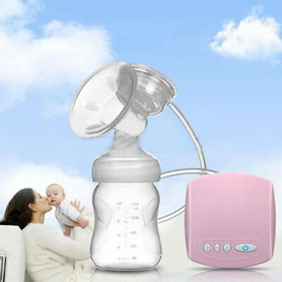 MISS BABY Natural Comfort Single Electric Breast Pump Infant Bottle Pacifier