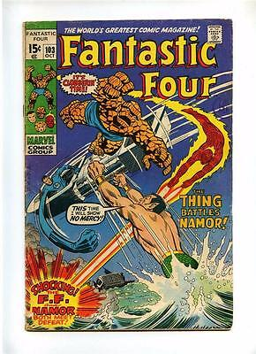 Fantastic Four #103 - Marvel 1970 - GD/VG - Vs Namor