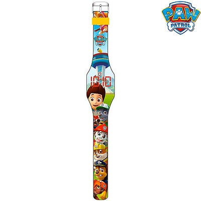 Orologio Digitale a LED Da Polso per Bambini Paw Patrol Display LED Touch Kids