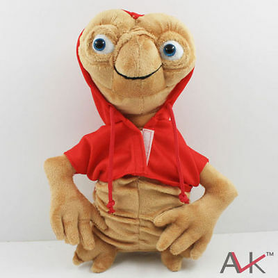"""New Red E.T. The Extra Terrestrial Soft plush stuffed Doll Toy 25cm 10"""""""