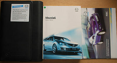 Mazda 6 Mazda6 Handbook Owners Manual Wallet 2008-2010 Pack 12744