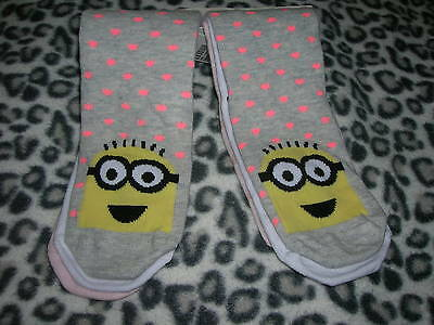 3 Pack Socks Minion for Girl Size EU 25/27 H&M