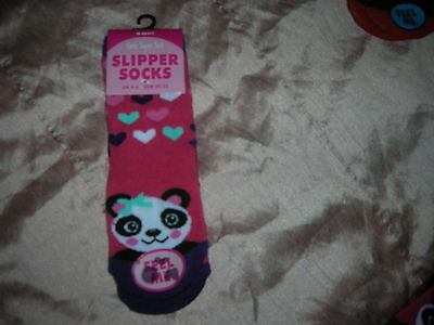 Slipper socks for Girl UK 4/6 EU 20/23