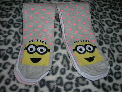 3 Pack Socks Minion for Girl Size EU 22/24 H&M