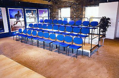 4m x 2m Tiered Stage, Modular Stage System, Multipurpose Indoor/Outdoor Staging