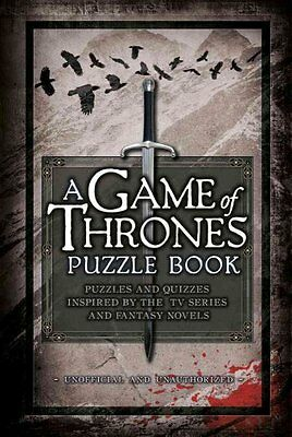 A Game of Thrones Puzzle Book by Tim Dedopulos 9781780977843 (Hardback, 2016)