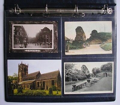 Family Tree Folk A4 Clear Acid Free Archival Postcard Sleeves for Ring Binder