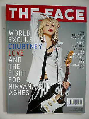 The Face Magazine - April 2002 - Courtney Love Cover No. 63 Vol. 3