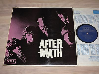 THE ROLLING STONES LP - AFTERMATH / UK BLUE SKL 4786 DECCA PRESS in VG+ MINT