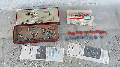 very rare subbuteo assembly outfit set 1950 with flat teams
