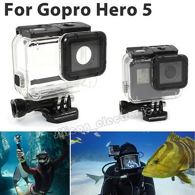 Waterproof Diving Housing Protective Case Super Suit For GoPro Hero 5 Accessory